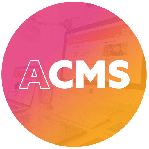 The ACMS is a system for simplified content management